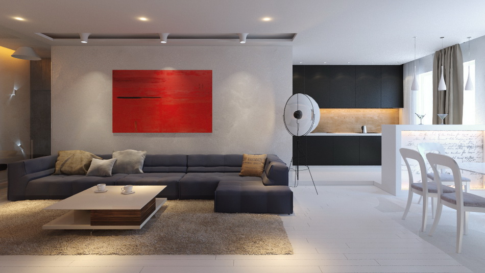 квартира в стиле минимализм1