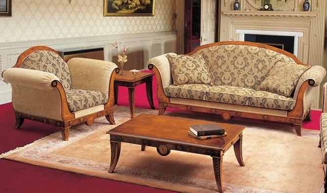 мебель в стиле классицизм2