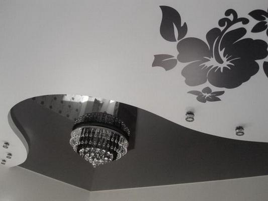 многоуровневые натяжные потолки4