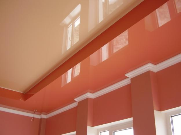 многоуровневые натяжные потолки5