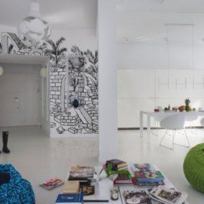 настенные росписи в квартире