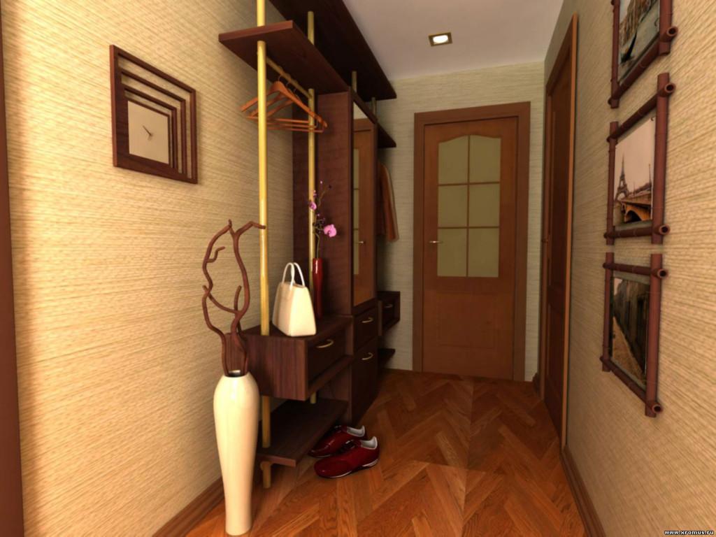 Как сделать ремонт узкого коридора