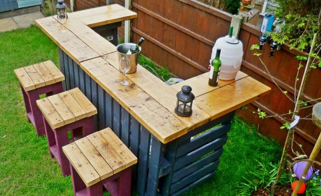 садовая мебель из поддонов_1
