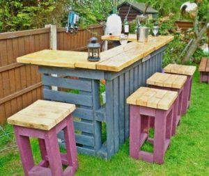 садовая мебель из поддонов_3