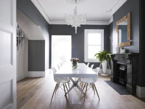 сочетание серого цвета в интерьере2