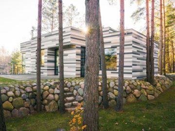 современный частный дом
