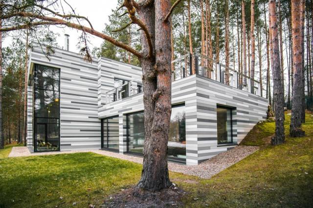 современный частный дом1