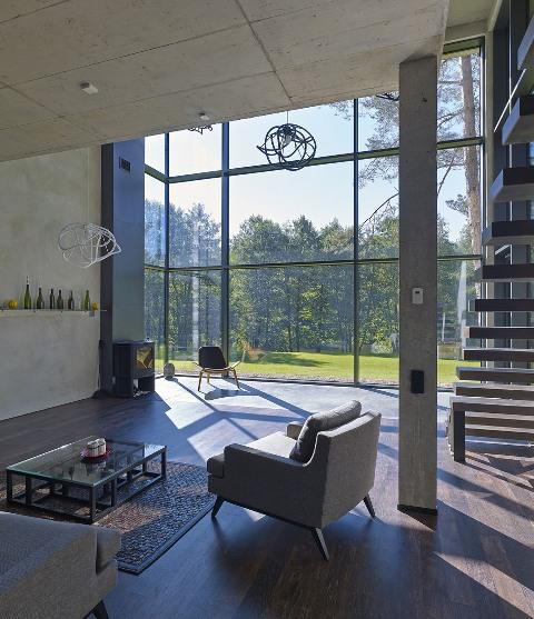 современный частный дом3