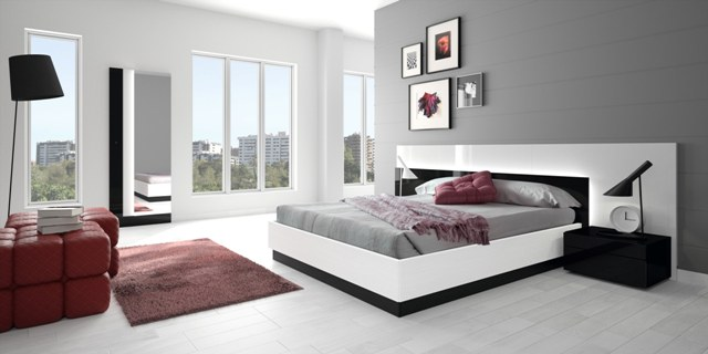 спальня в стиле модерн4
