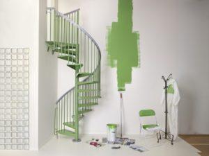 стальная винтовая лестница