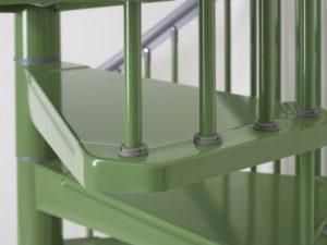 стальная винтовая лестница1
