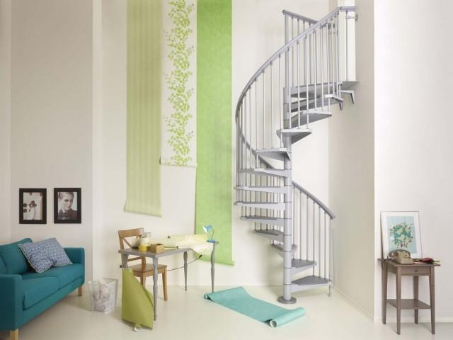 стальная винтовая лестница6