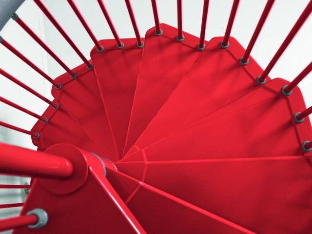 стальная винтовая лестница7