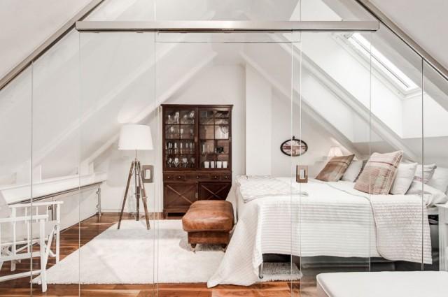 стеклянный пол в квартире7