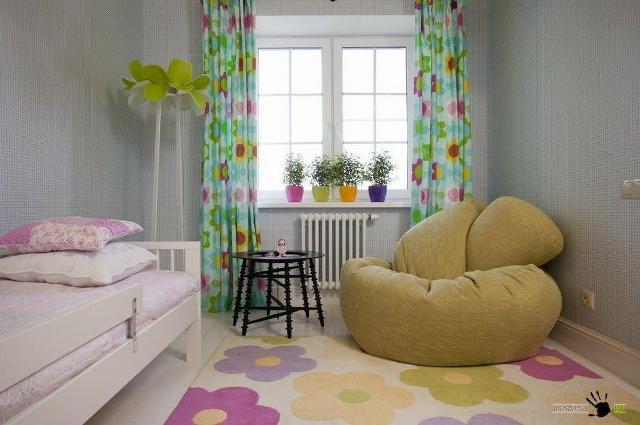 стены в детской комнате_1