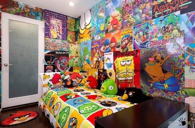 стены в детской комнате_14
