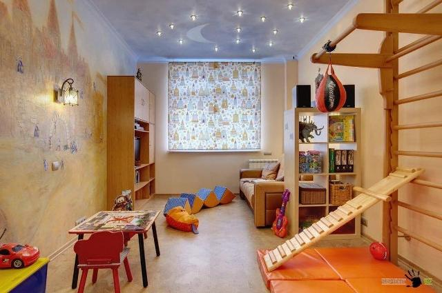 стены в детской комнате_20
