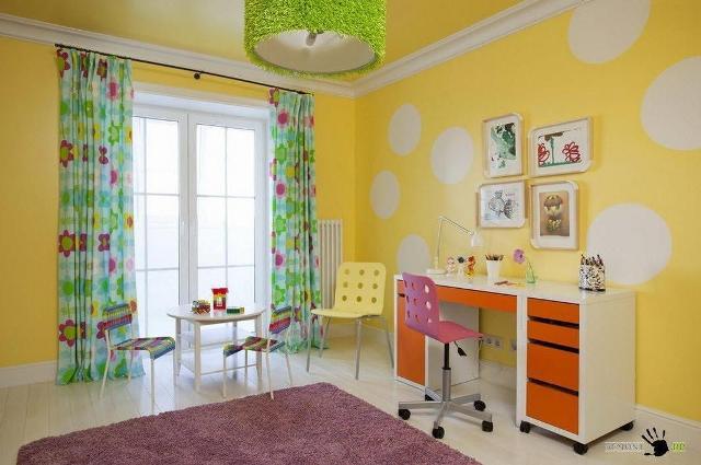 стены в детской комнате_25