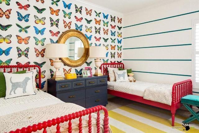 стены в детской комнате_27