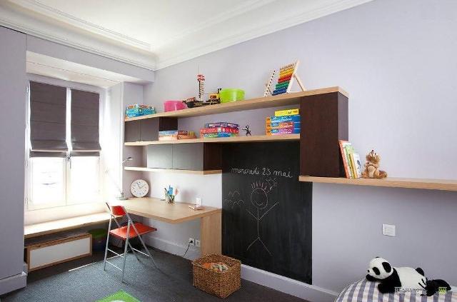 стены в детской комнате_4