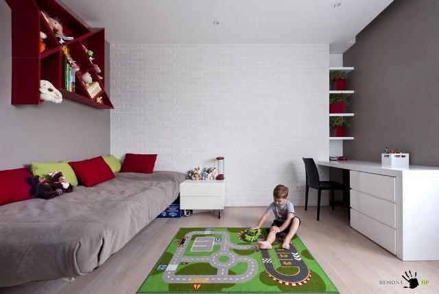стены в детской комнате_7