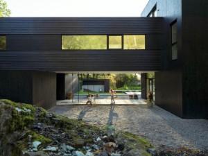 темный современный дом2