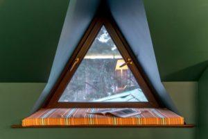 треугольные окна