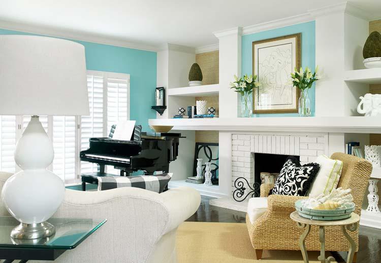 цвет мебели в интерьере 1