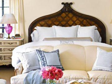 цвет в интерьере спальни