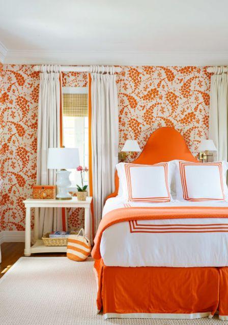 цвет в интерьере спальни_5