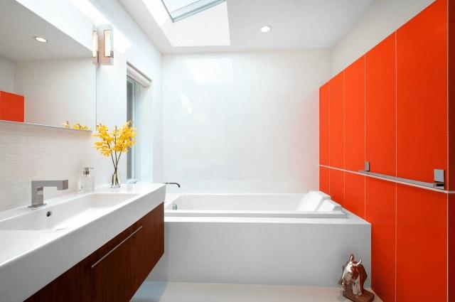 цвет в ванной1