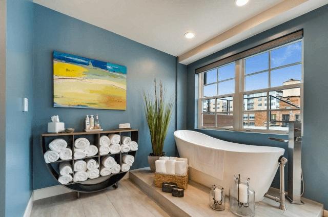 цвет в ванной8