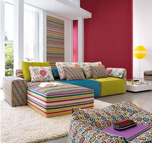 цветовые решения в интерьере