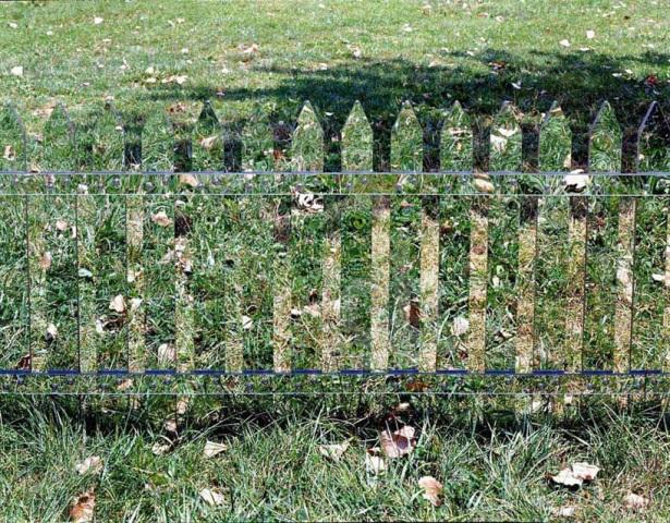 зеркальный штакетный забор_4