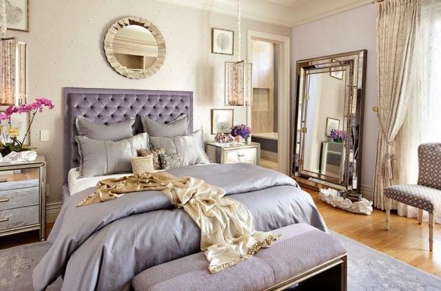 зеркало в интерьере спальни_2