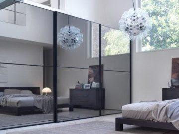 зеркало в интерьере спальни_4